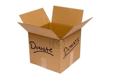 Empty Donation Box