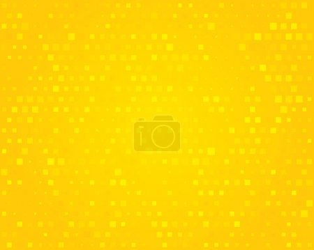 Yellow background. Vector illustration.