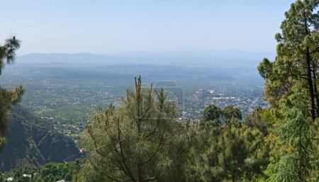 Photo for Panorama of the Dharamsala, in Himalaya mountains. - Royalty Free Image