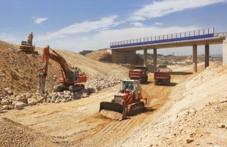 High speed line under construction
