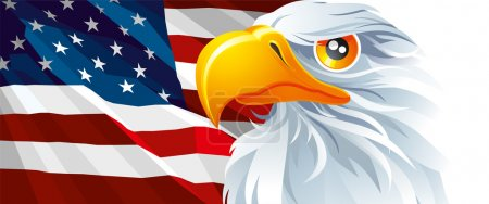 Illustration for The national symbol of USA - Royalty Free Image