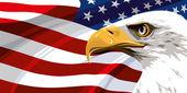 """Постер, картина, фотообои """"Национальный символ Соединенных Штатов Америки"""""""