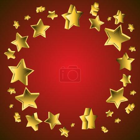 3d Star Background