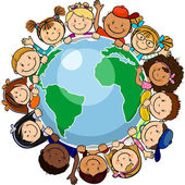 All united in the world