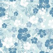 Kék hibiscus varrat nélküli