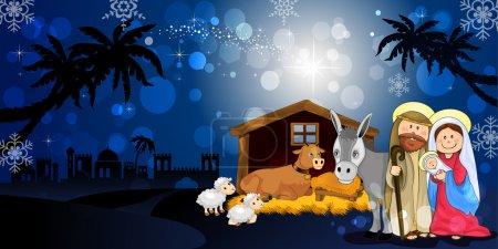 Holy Family in Bethlehem