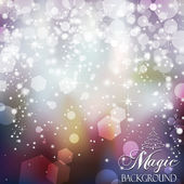 Magic Background blue