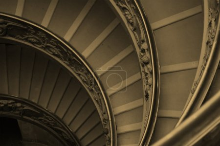 Spiral staircase detail