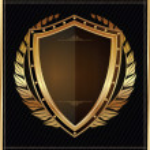 Golden shield...