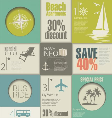 Travel Modern design template