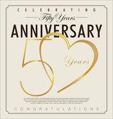 50 years anniversary background