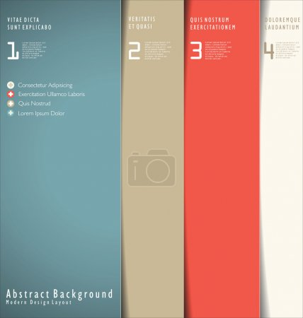 Illustration for Modern Design Layout - Royalty Free Image