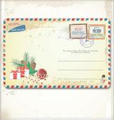 Ročník vánoční pohlednice
