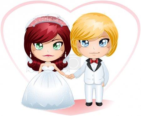 Bride And Groom Getting Married 4