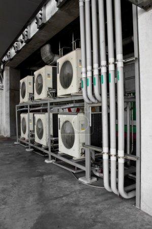 Photo pour Compressor de ar frio elétrico poderoso - image libre de droit