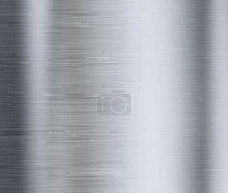 Brushed metal or aluminum