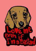 Love me even if Im a bastard
