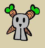 Skull carrots