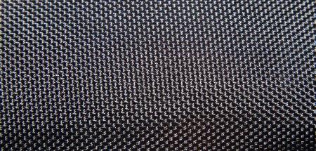 Photo pour Texture d'un grill en métal ou plastique noir - image libre de droit