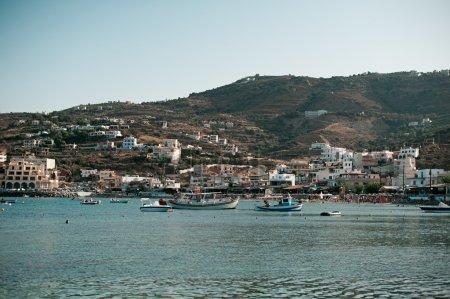 Blue lagoon on Crete, Greece