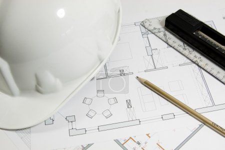 The plan of building a house