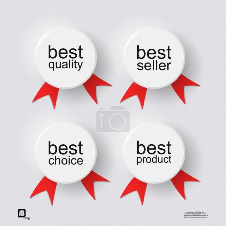 Icons of best choice,quality,seller,product