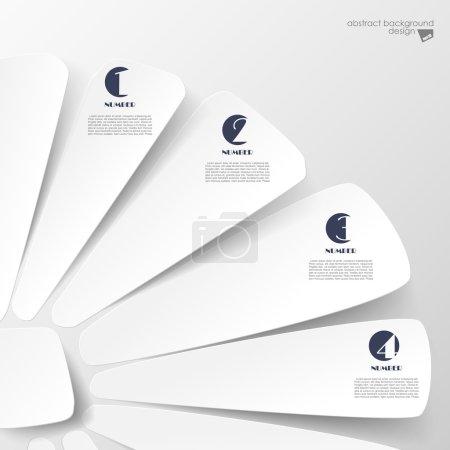 Illustration pour Fond d'options de papier - image libre de droit
