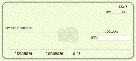 Illustration pour Vérification bancaire - image libre de droit