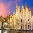 Milan cathedral dome...