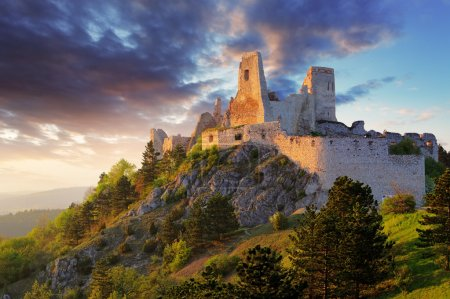 Ruin of castle Cachtice - Slovakia