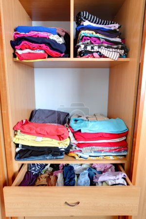 Closet - wardrobe, clothes