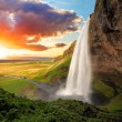 Seljalandsfoss is one of the most beautiful waterf...
