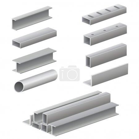 tubes et profil métal