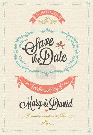 Save The Date, Wedding Invitation Card...