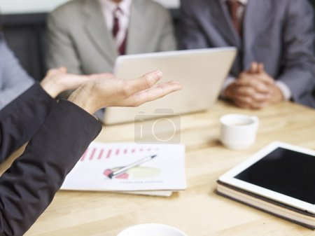 Photo for Business people meeting in office. - Royalty Free Image