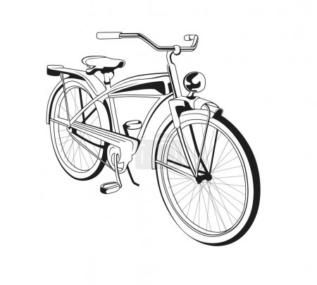 Illustration for Vintage bicycle - Royalty Free Image