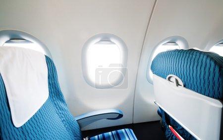 Empty aircraft seats