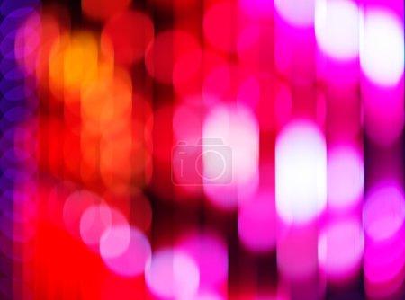 Photo pour Noël fond de lumières floues. Fond de lumières déconcentrées. Fond coloré abstrait . - image libre de droit
