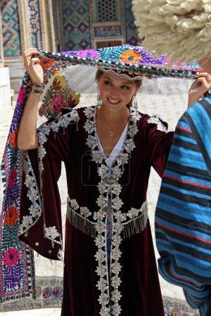 Uzbek Girl in Samarkand...