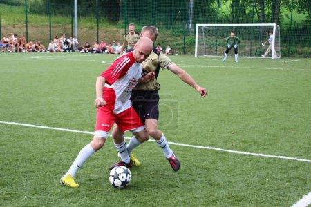 Foto de Fútbol amateur, malopolska, Polonia - Imagen libre de derechos