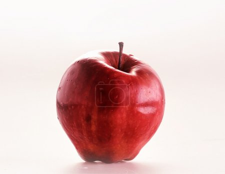 Photo for An apple, red color - Royalty Free Image
