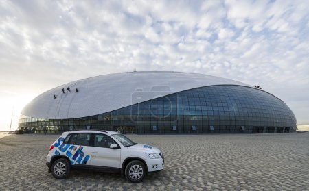 Newly constructed Ice Venue in the Sochi Olympic Park, Russia
