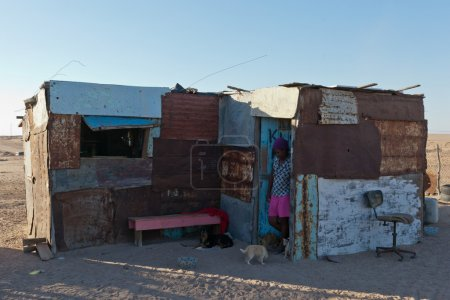 Houses in Namibia, Africa