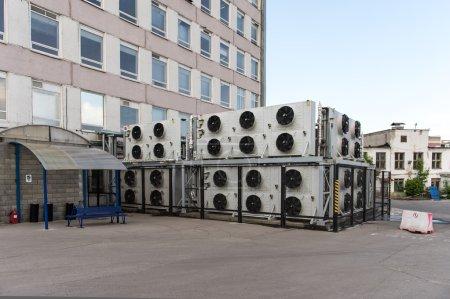 Huge cooling system of computer laboratory, Nizhni...