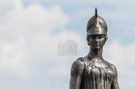 Woman monument, Vologda, Russia...