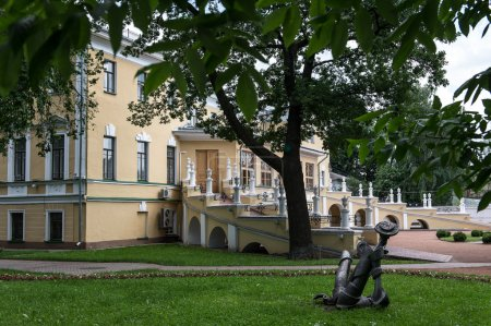 Old governor mansion in Yaroslavl, Russia...