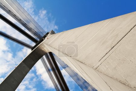 Abstract background with architectural elements