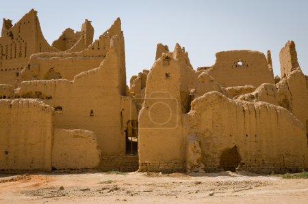 Photo for Diriyah the oldest city in Saudi Arabian, near Riyadh City - Royalty Free Image