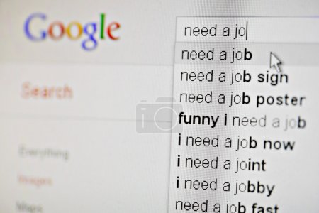 Google, I need a job!