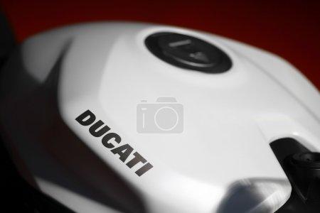 Ducati motorcycle tank
